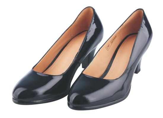 07A Women's leather shoes with dress